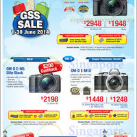 Read more about Olympus Digital Cameras Offers 1 - 30 Jun 2014