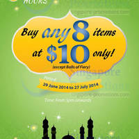 Read more about Old Chang Kee $10 For 8 Items Promo 29 Jun - 27 Jul 2014
