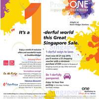 Read more about One@KentRidge 1-derful World Promotions & Activities 9 Jun - 27 Jul 2014