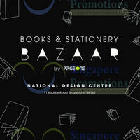 Read more about Page One Books Bazaar @ National Design Centre 28 - 29 Jun 2014