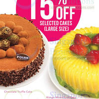 Read more about Polar Puffs & Cakes 15% OFF Selected Cakes 9 - 30 Jun 2014