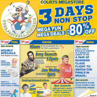 Read more about Courts Mega Raya Sale Offers 14 - 15 Jun 2014