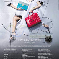 Read more about Raffles City Style Emergence Promotions & Activities 30 May - 29 Jun 2014