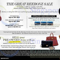 Read more about Reebonz The Great Sale Up To 70% OFF 12 - 14 Jun 2014