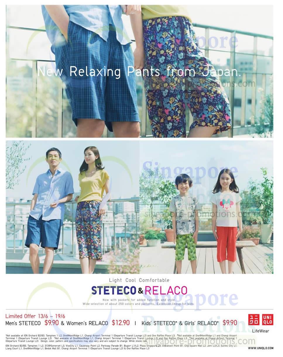 Relaxing pants, Steteco n Rel