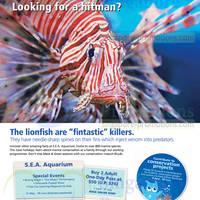Read more about RWS Marina Life Park S.E.A. Aquarium $50 2 Adult Pass Promo 6 Jun - 31 Jul 2014