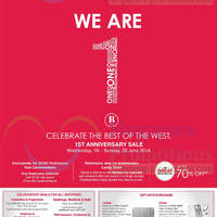 Read more about Robinsons First Anniversary SALE @ Jem 18 - 29 Jun 2014