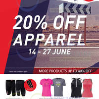 Read more about Running Lab 20% OFF Apparel Promo 14 - 27 Jun 2014