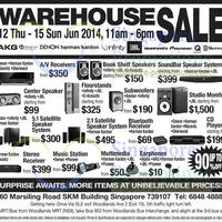 Read more about Branded Audio Products Up To 90% OFF Warehouse SALE 12 - 15 Jun 2014