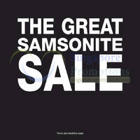 Read more about Samsonite Great Sale 5 Jun 2014