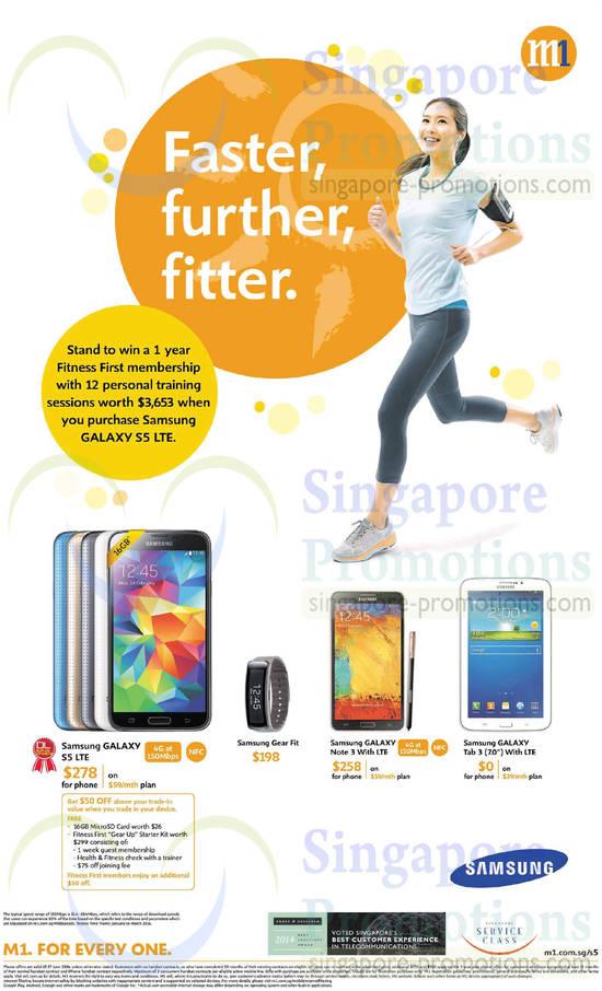 Samsung Galaxy S5, Samsung Galaxy Note 3, Samsung Galaxy Tab 3 7.0