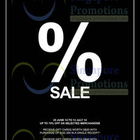 Read more about Saturday SALE @ Wheelock Place 20 Jun - 13 Jul 2014