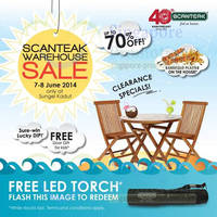 Read more about Scanteak Up To 70% OFF Warehouse SALE @ Sungei Kadut 7 - 15 Jun 2014