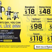 Read more about Scoot From $18 Promo Air Fares 13 - 15 Jun 2014