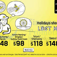 Read more about Scoot Never Last Minute Holidays Promo Air Fares 26 - 29 Jun 2014