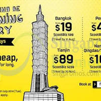 Read more about Scoot From $19 2hr Promo Air Fares 1 Jul 2014
