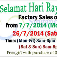 Read more about Seng Hua Hng Foodstuff (Camel Nut) Factory Sale 7 - 26 Jul 2014