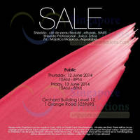 Read more about Shiseido SALE @ Orchard Building 12 - 13 Jun 2014