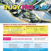 Read more about Singapore Sports Hub Open House & FREE Facilities Usage Promo 27 Jun - 31 Jul 2014