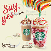 Read more about Starbucks NEW Strawberry Cheesecake Frappuccino & Tiramisu Frappuccino 12 Jun 2014