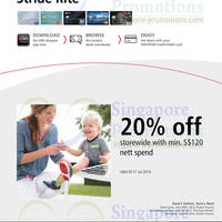 Read more about Stride Rite 20% OFF For DBS/POSB Cardmembers 6 Jun - 31 Jul 2014