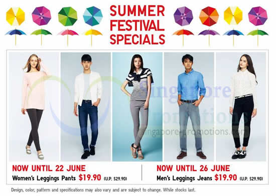 Summer Festival Specials
