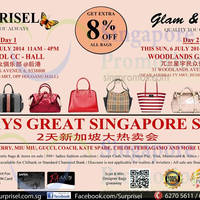Read more about Surprisel Branded Handbags Sale @ Two Locations 5 - 6 Jul 2014
