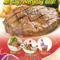 Read more about Swensen's Buy Main Dish & Get FREE Side, Sundae or Drink 26 Jun - 31 Oct 2014