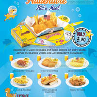 Read more about Swensen's $9.90 Underwater Adventure Kid's Meal 4 Jun 2014