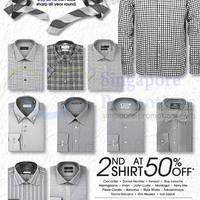 Read more about Takashimaya 50% OFF 2nd Shirt Promo 6 - 15 Jun 2014
