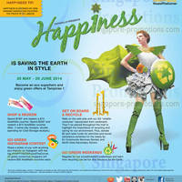 Read more about Tampines 1 Saving the Earth In Style Promotions & Activities 30 May - 29 Jun 2014