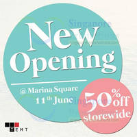 Read more about Temt 50% OFF Sale @ Marina Square 11 - 15 Jun 2014