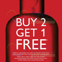 Read more about The Body Shop Buy 2 Get 1 FREE Storewide 2 - 15 Jun 2014