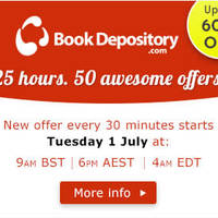 Read more about The Book Depository Up To 60% OFF 25hr Promo 1 - 2 Jul 2014