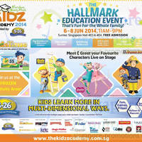 Read more about The Kidz Academy @ Suntec Convention Centre 6 - 8 Jun 2014
