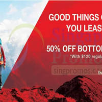 Read more about The North Face 50% Off Bottom Purchase Promo 27 Jun - 13 Jul 2014