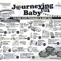 Read more about Thomson Baby Journeying With Baby Fair @ Suntec 20 - 22 Jun 2014