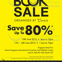 Read more about Times Bookstores The Book Sale @ Suntec Convention Centre 10 - 16 Jun 2014