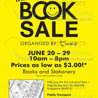 Read more about Times Bookstores Book Sale @ Ang Mo Kio 20 - 29 Jun 2014