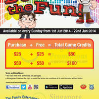 Read more about Timezone 100% Extra Double Dollar Sundays Promo 1 - 29 Jun 2014
