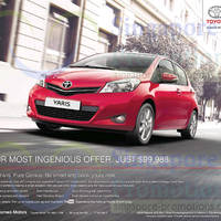 Read more about Toyota Yaris Features & Offer 21 Jun 2014