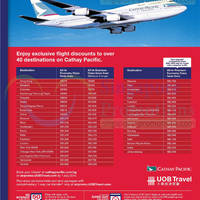 Read more about Cathay Pacific Promo Air Fares For UOB Cardmembers 11 Jun - 7 Jul 2014