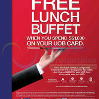 Read more about UOB Spend $1000 & Get FREE Lunch Buffet 30 May - 28 Jul 2014