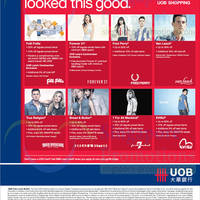 Read more about UOB Great Singapore Sale Fashion Offers 5 Jun - 31 Jul 2014