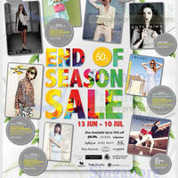 Read more about Isetan Up To 50% Off End of Season Sale 13 Jun - 10 Jul 2014