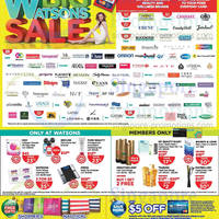 Read more about Watsons Personal Care, Health, Cosmetics & Beauty Offers 29 May - 4 Jun 2014