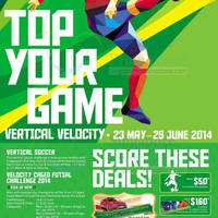 Read more about Velocity @ Novena Square Top Your Game Promotions & Activities 23 May - 29 Jun 2014