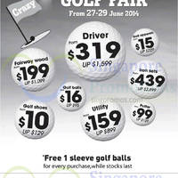 Read more about World of Golf Golf Fair @ Liang Court 27 - 29 Jun 2014