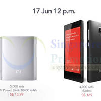 Read more about Xiaomi Redmi, Power Banks & Accessories Restock Sale From 12pm On 17 Jun 2014