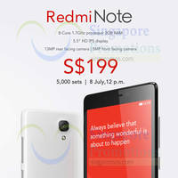 Read more about Xiaomi Redmi Note & Redmi 1S Price Revealed & Available From 8 Jul 2014